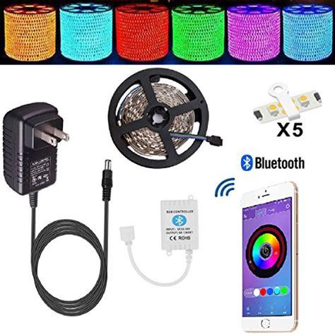 smartphone controlled lights led strip lights topmax bluetooth smartphone controlled