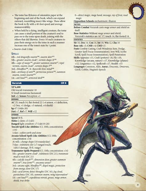 pathfinder roleplaying advanced player s guide advanced races 15 tosculi for pathfinder rpg kobold