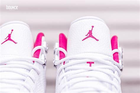 12 valentine day air jordan 12 gs white vivid pink sneakerfiles