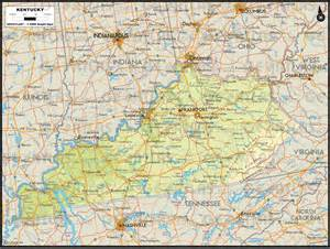 us map kentucky geoatlas us states kentucky map city illustrator