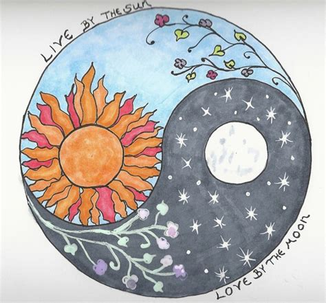 sun moon yin yang tattoo designs 65 amazing sun and moon designs for the couples