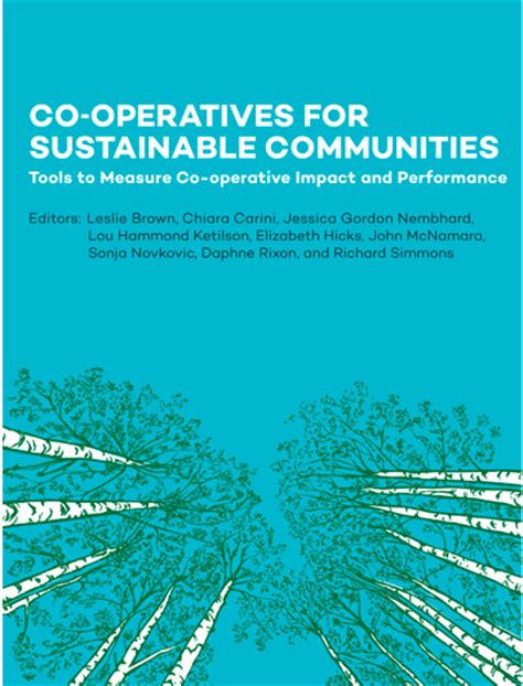 sensor networks for sustainable development books co operatives for sustainable communities tools to