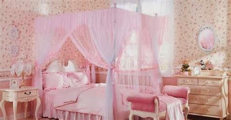 foto desain kamar tidur anak cewek simple warna pink desain rumah minimalis terbaik