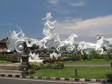 statue  bali airportbali indonesia wanderlust