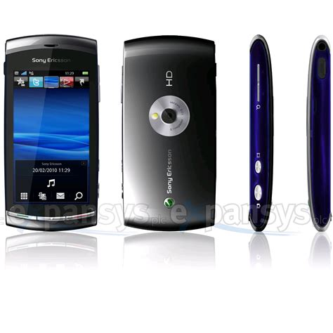 Hp Sony Vivaz U5 larger image for sony ericsson vivaz uk black