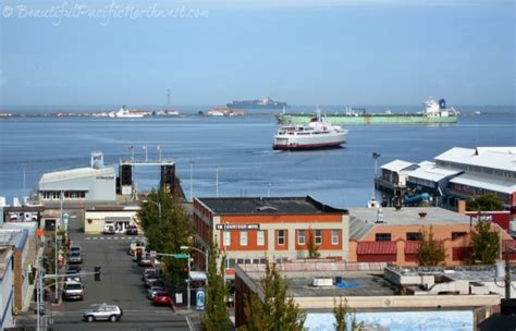 Car Ferry From To Port Angeles by Port Angeles Washington In The Pacific Northwest