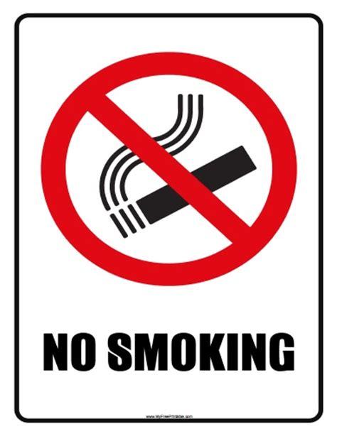 printable no smoking signs no smoking sign free printable myfreeprintable com