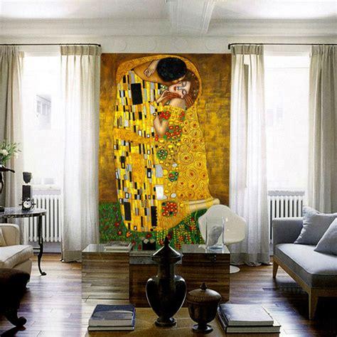 painting decor aliexpress com buy the kiss mural gustav klimt oil