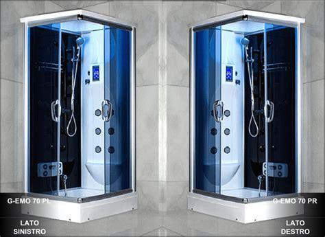 cabina doccia 90x70 cabina idromassaggio angolare box doccia con cromoterapia im