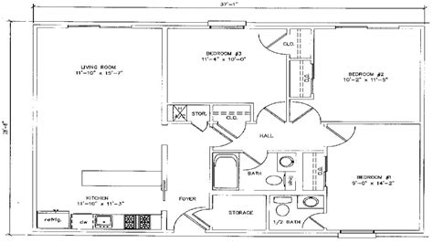 3 bedroom house plans under 1000 sq ft 1000 square foot house plans 3 bedroom 900 square foot