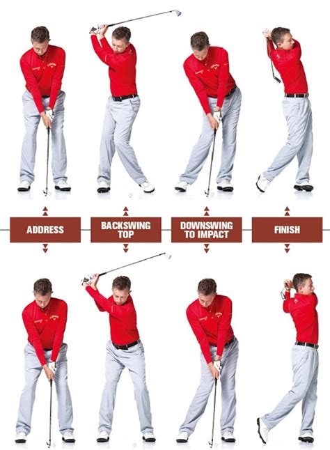 the swing position golf old swing vs modern swing swingstation