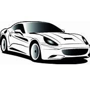 Wei&223 Ferrari Cartoon Symbol Vektor  Download Der