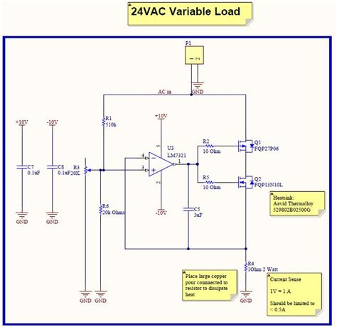 load resistor circuit design ac and dc dummy load all the electronics that s fit to build