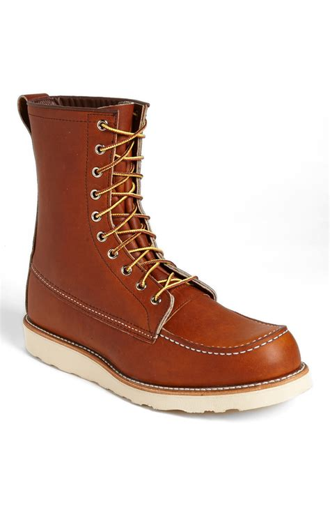 wing boot wing 877 moc toe boot in brown for oro legacy