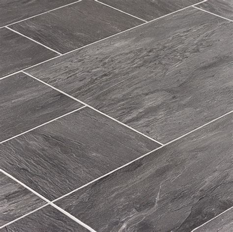 laminate flooring for bathrooms tile laminate is perfect for kitchens or bathrooms faus innovation midnight slate