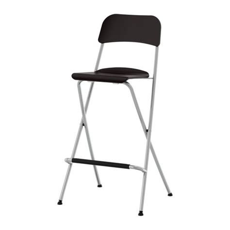 Bar Stool With Backrest Foldable by Franklin Bar Stool With Backrest Foldable 74 Cm Ikea