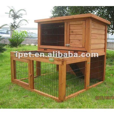 2 niveau ext 233 rieur en bois cage 224 lapins 224 vendre avec grand courir cage caisse transporteur