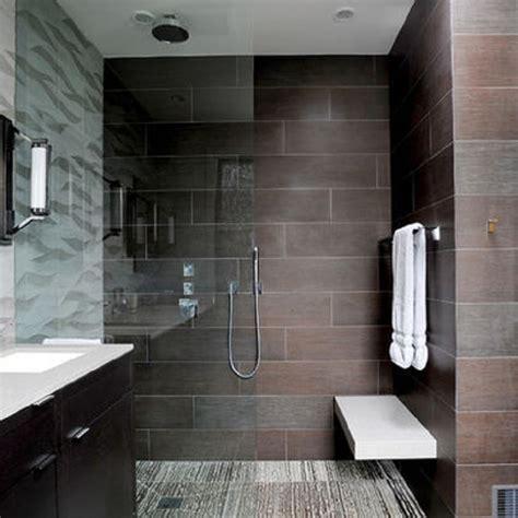 Contemporary Showers Bathrooms Big Tile Shower Designs Studio Design Gallery Best Design