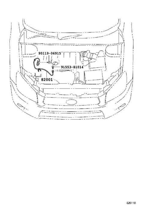 2009 Toyota Wire. Knock sensor; sensor - 822190T020