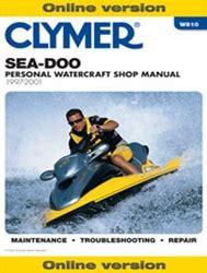Sea Doo Jet Ski Manual Service Shop And Repair Manuals