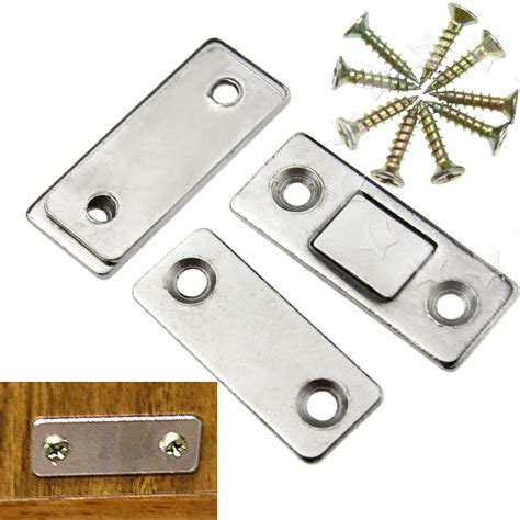 Kitchen Cabinet Door Magnets by 2pcs Door Catch Latch Ultra Thin Furniture Magnetic