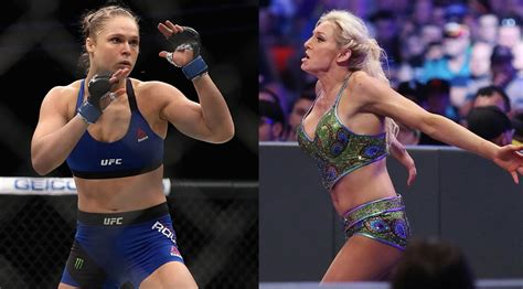 charlotte flair next fight ric flair wants to see ronda rousey fight his daughter