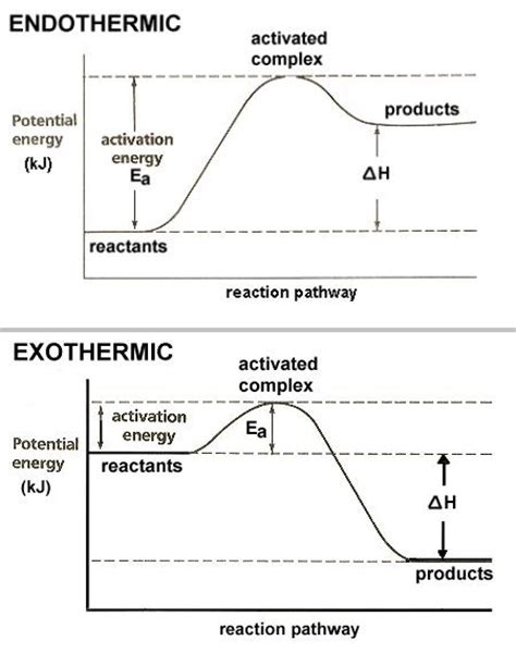 endothermic diagram ms j s chemistry class endo and exo