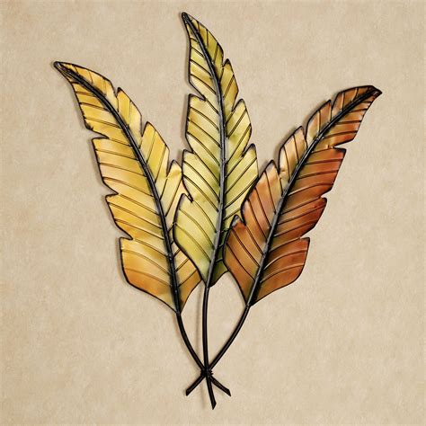 leaves wall decor banana leaves metal wall