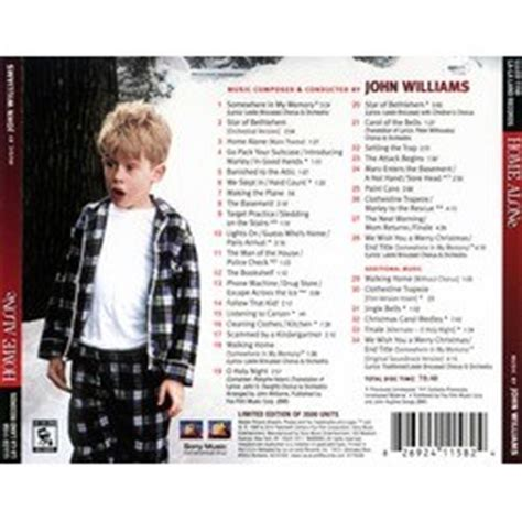 site home alone soundtrack williams
