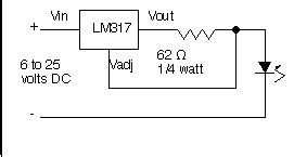 constant current diode 20ma electronics forum gt lm317 in constant current mode