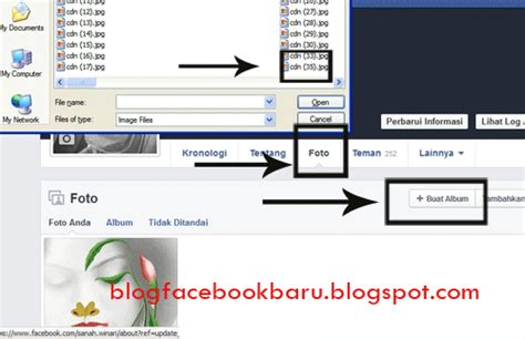 cara membuat facebook di laptop cara membuat album foto di facebook sebanyak banyaknya