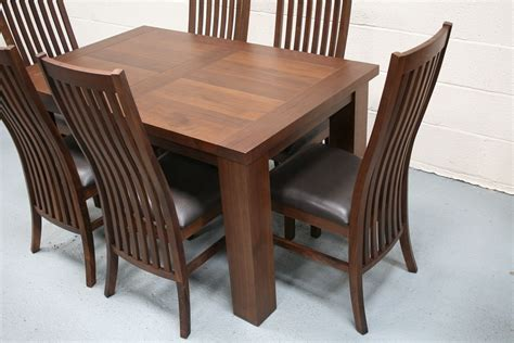Walnut Dining Tables And Chairs Walnut Dining Table Furniture Walnut Tables Chairs Bar Stools