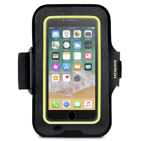 belkin sport fit armband for iphone 8 iphone 7 and iphone