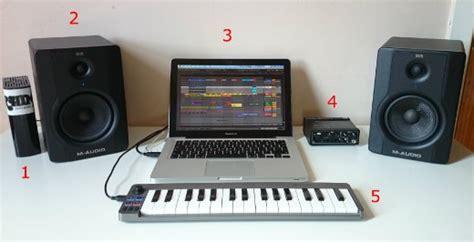 home recording studio setup dawsons