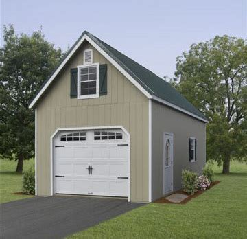 Single Car Garage by 2 Story Single Car Garages Storage Sheds And Garages