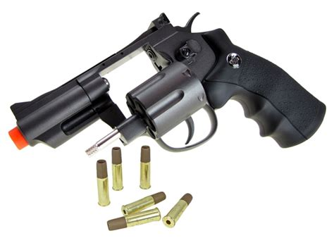 Airsoft Gun Revolver Wingun wingun 708 airsoft revolver wg co2 gun 2 quot snub nose all metal pistol 12 co2 refills free