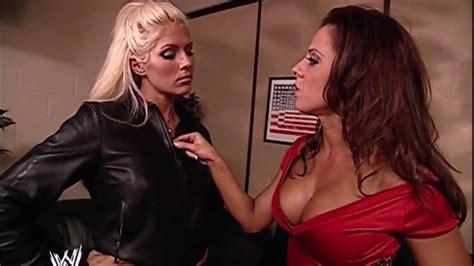 torrie wilson vs kane torrie wilson dawn marie backstage smackdown 12 05 2002