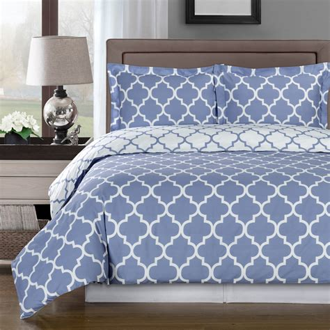cotton comforter meridian periwinkle reversible cotton comforter set free