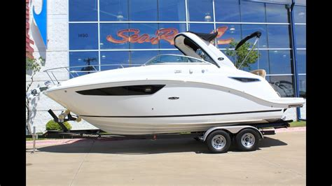 sea ray boats dallas 2017 sea ray sundancer 260 for sale at marinemax dallas