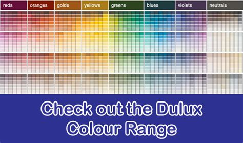 dulux colour range pot paint and hardware