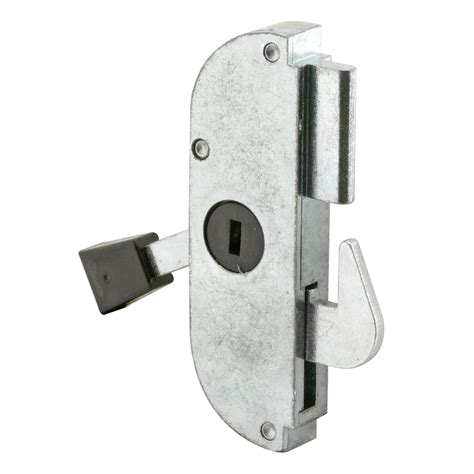 Sliding Patio Door Locks Shop Prime Line 3 In Generic Sliding Patio Door Mortise Lock And Keeper At Lowes