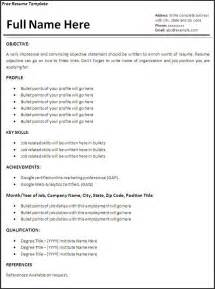 It Jobs Resume Samples by Resume Templates Job Resume Template Free Word