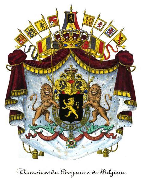Armoiries De by Armoiries Du Royaume De Belgique Armorial Du Royaume De