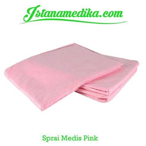Harga Sprei Merk Istana sprei medis warna pink istana medika