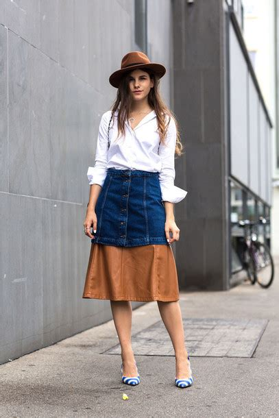 fashion union fashion union shoulder shirt simple accessories the fashion fraction skirt hat button up skirt