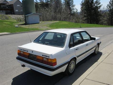 old car repair manuals 1987 audi 4000cs quattro electronic valve timing classic 1987 audi 4000 cs quattro 5000 80 90 100 200 s1 s2 s3 s4 s5 s6 s7 s8 ur for sale