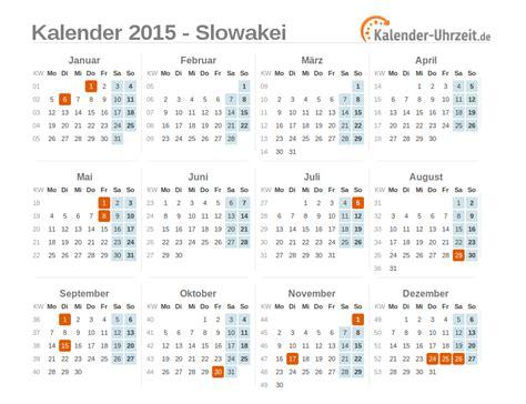 Slovakia Kalender 2018 Feiertage 2015 Slowakei Kalender 220 Bersicht