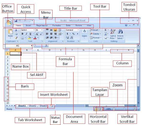 gambar ikon format pointer ikon menu kontrol microsoft excel 2007
