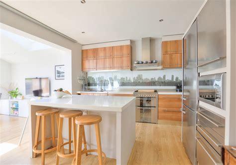 semi modern kitchen extension to 1930 s semi contemporary kitchen