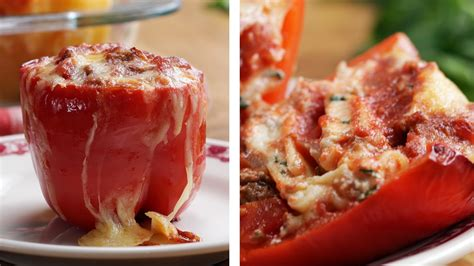 Indian Home Decoration Tips Lasagna Stuffed Peppers Cookeryshow Com